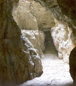 Veľká Skalka -chodba V Jaskyni
