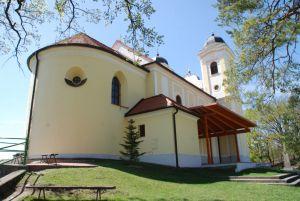 Pútnický Kostol Zozadu
