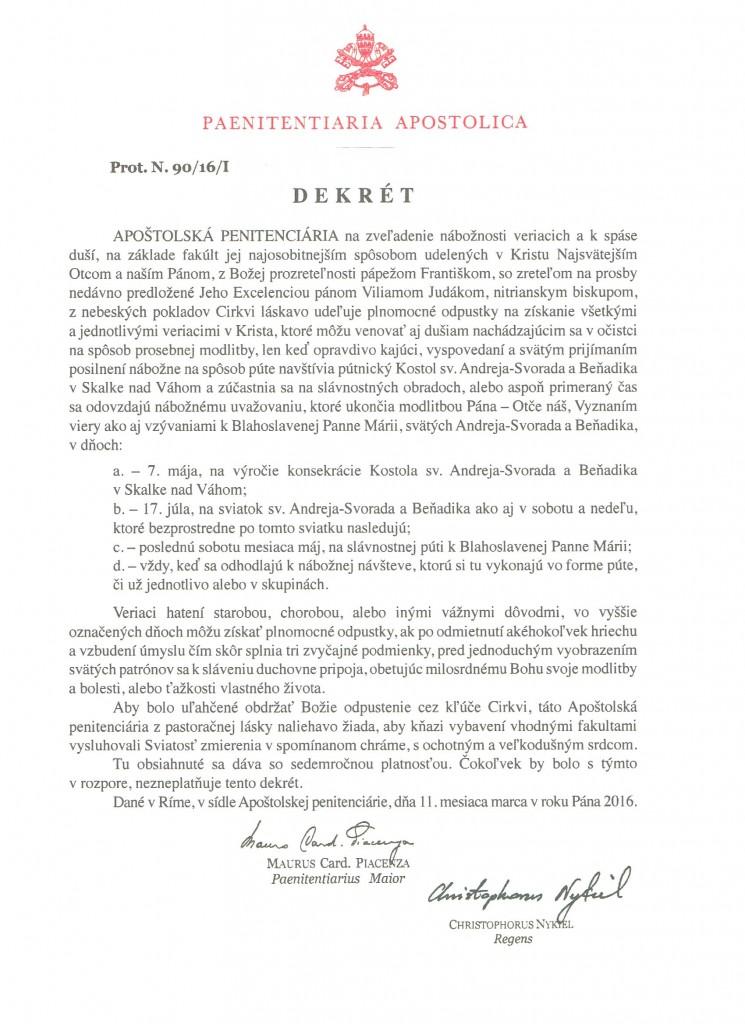 odpustky_dekret